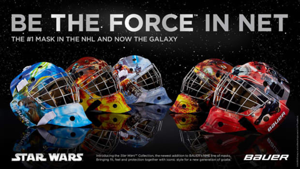Bauer Lets Goaltenders Unleash Their Inner Jedi (or Sith)