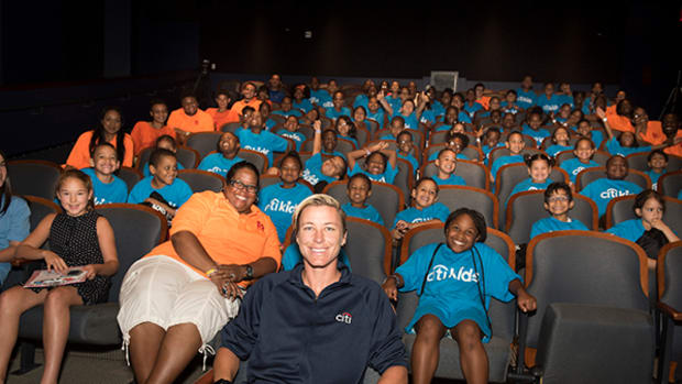 World Cup Champion Abby Wambach Inspires at Citi Kids Event in NYC