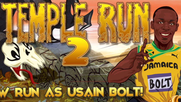 "Usain Bolt Q&A: Bolting Into ""Temple Run 2"""