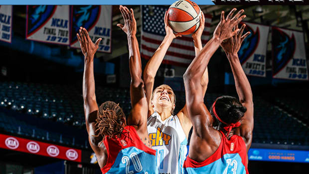 WNBA Star Elena Delle Donne Has the Chicago Sky Thinking Title