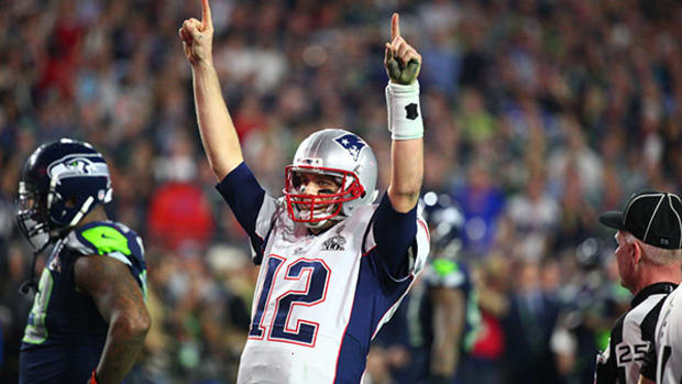 Tom Brady Leads Pats to Fourth Title With Cool and Calm