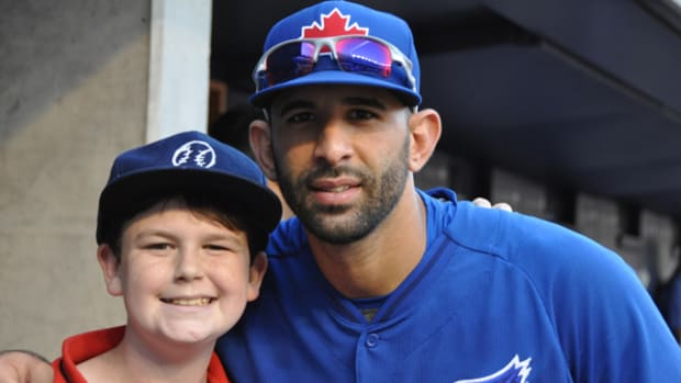 A Visit with the Toronto Blue Jays