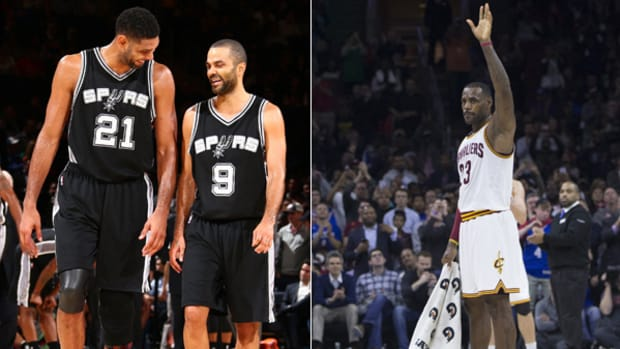 Tim Duncan and LeBron James Reach Big Milestones