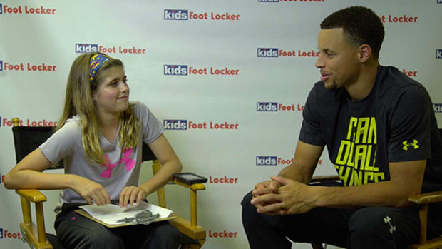 Steph Curry Dishes on Sneakers, 2015, and Halloween