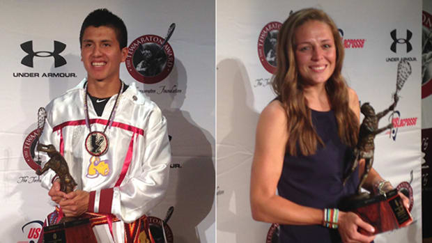 Lyle Thompson, Taylor Cummings Win Tewaaraton Award