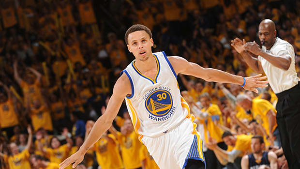 Steph Curry Named NBA's 2014-15 MVP