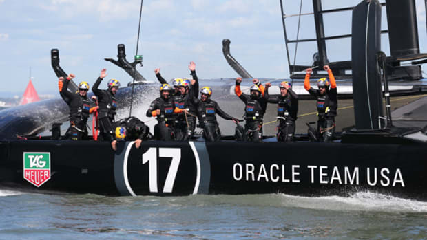 Oracle Team USA Stuns World, Win's America's Cup