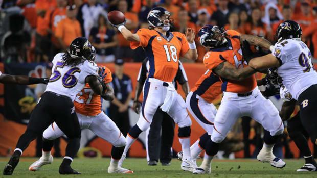 Peyton Manning Throws Seven Touchdowns, Destroys Ravens