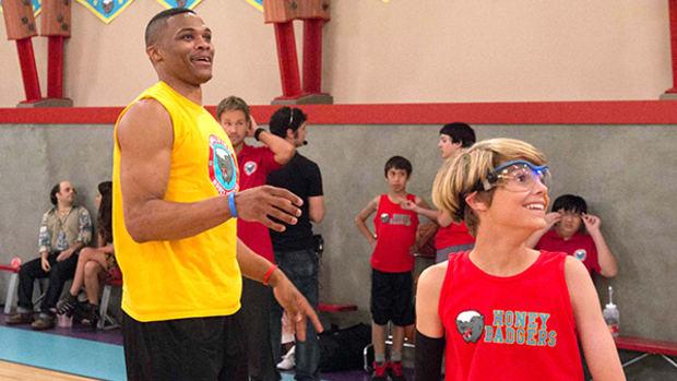 Russell Westbrook Schools Nickelodeon's Henry Danger