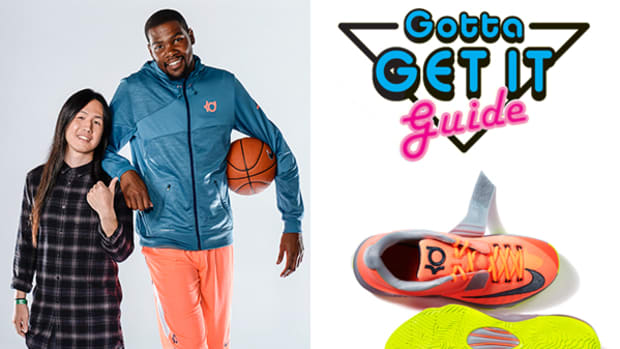 Kevin Durant Channels His Inner Designer and Tells Us About His Latest Basketball Shoe