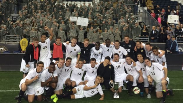 Army Defeats Navy for the First Time — on the Pitch
