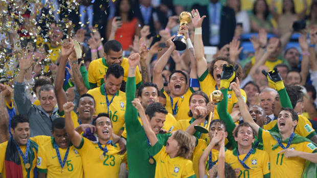 Brazil Knocks Off Spain to Claim Confederations Cup Threepeat