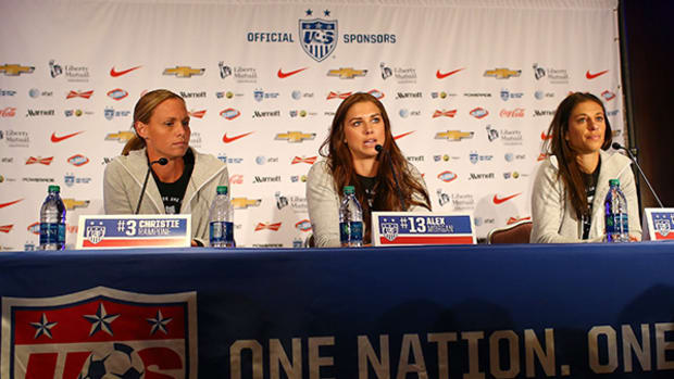 Team USA Media Day: Ready for World Cup Redemption