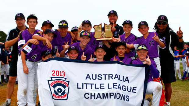 Little League Champs from Down Under