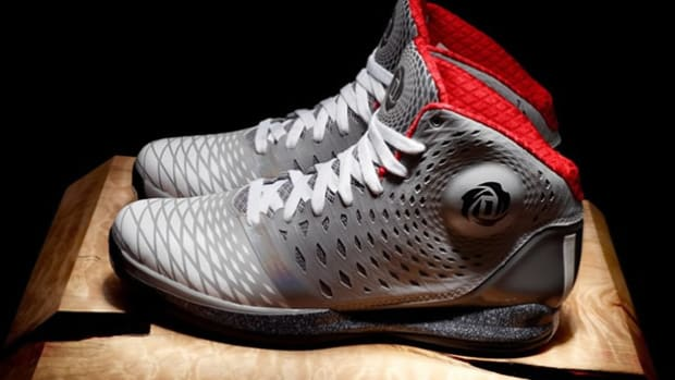 Check out Derrick Rose's new Adidas sneaker, the D Rose 3.5