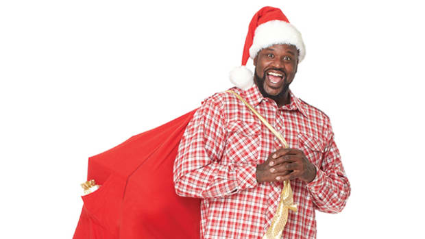 Shaq-a-Claus Teams Up With Toys for Tots This Christmas