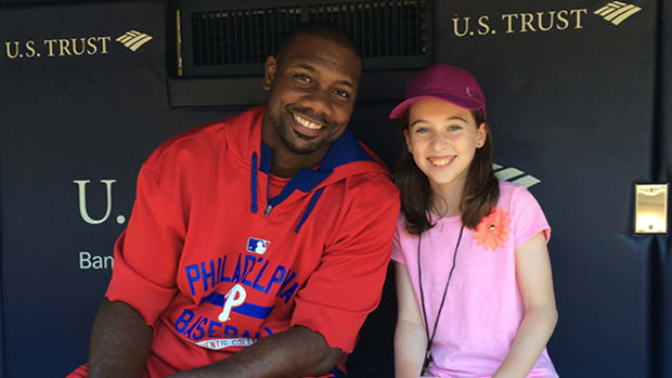 A Dugout Chat with Ryan Howard