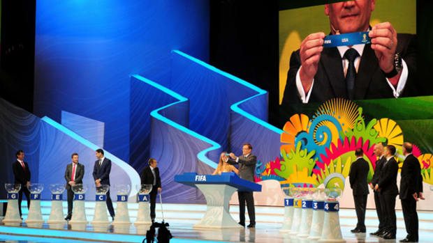 2014 World Cup Groups Set