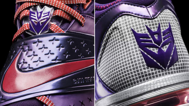 Megatron Gets Some Transformers-Inspired Footwear
