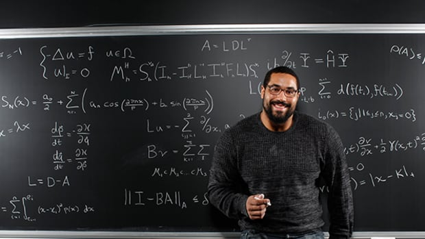 Mathlete John Urschel Wants You to Learn Math!
