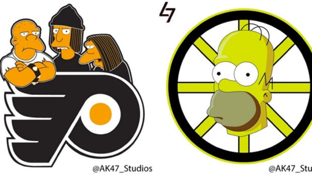 Simpsons NHL Logos are the Best NHL Logos