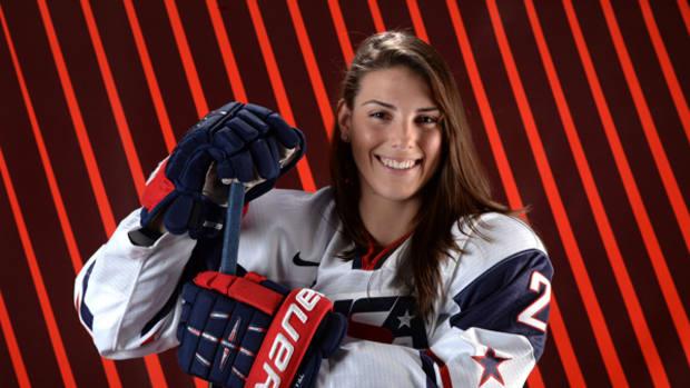 2014 Winter Olympics Interviews: Hillary Knight, US Women's Hockey