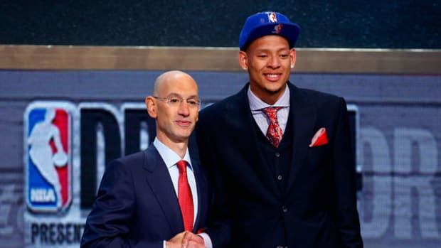 Isaiah Austin Steals the Show at NBA Draft