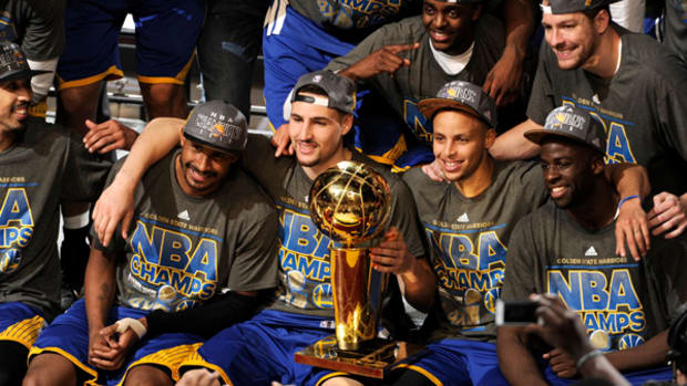 Golden State Warriors Win NBA Title!