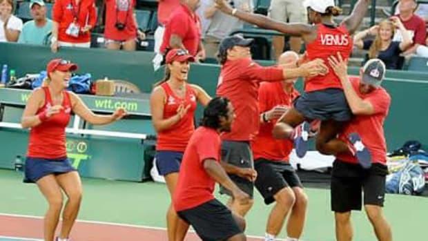 Venus Finds Team Tennis Glory