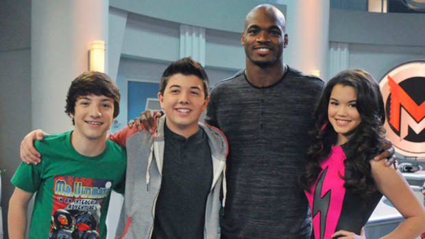 Adrian Peterson: Small-Screen Rookie