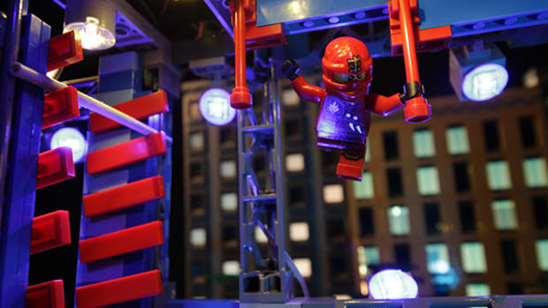 Exclusive: Lego Ninjago Takes on American Ninja Warrior!