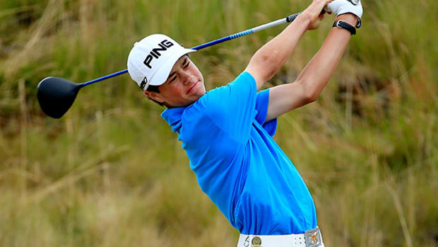 Fifteen-Year-Old Golfer Cole Hammer Makes U.S. Open Debut