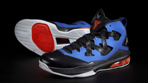 Check out Carmelo Anthony's new Jordan Brand sneaker, the Melo M9