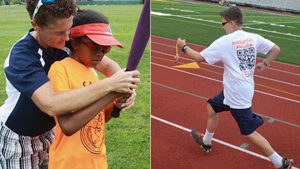 Sports Camp Empowers Kids With Visual Impairments