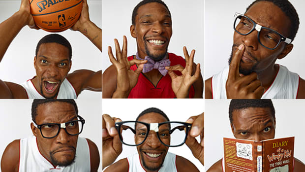 The Many Faces of Chris Bosh