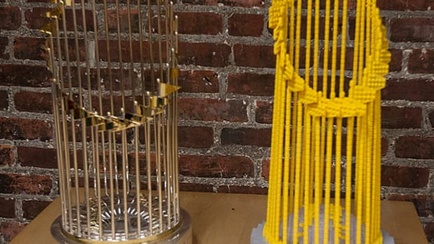 Boston Gets a LEGO World Series Trophy, Too