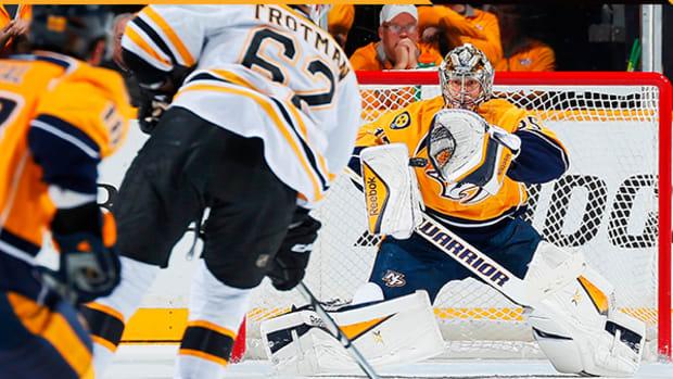 Vezina-Favorite Pekka Rinne Has the Predators Thinking Stanley Cup