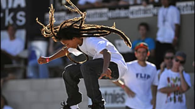 Will Nyjah Huston Win SLS Gold?