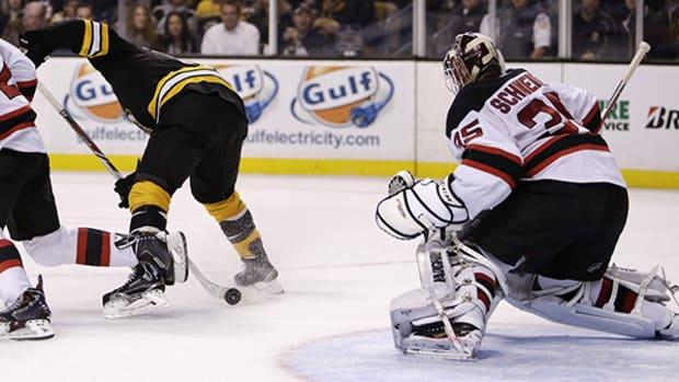 Boston's Seth Griffith Scores Wild, Beautiful Goal