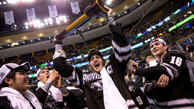 Providence Wins Its First NCAA Hockey Title!