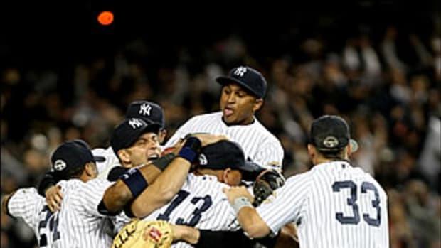 My October Night at Yankee Stadium