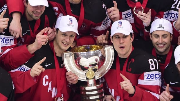 Canada Tops Russia to Win Hockey Worlds Gold