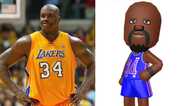 "Shaq Goes Digital in ""Tomodachi Life"""