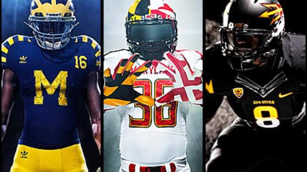 College Football's Newest Looks