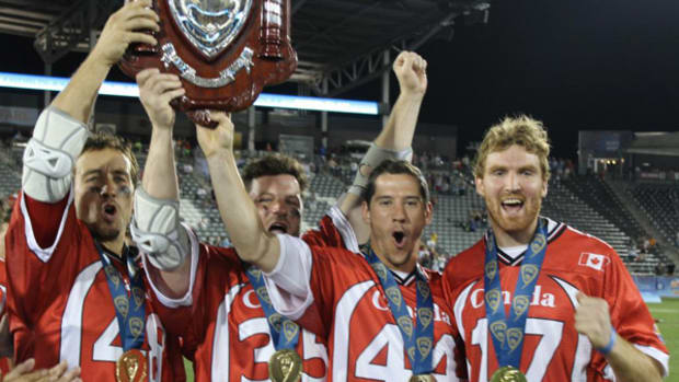 Canada Takes Gold at World Lacrosse Championship