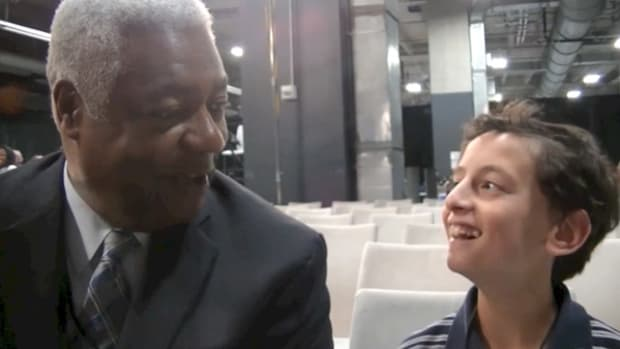 2014 Final Four Day 2: One-on-One with Oscar Robertson