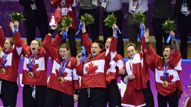 Canadian Women Win Hockey Gold for Fourth Straight Time