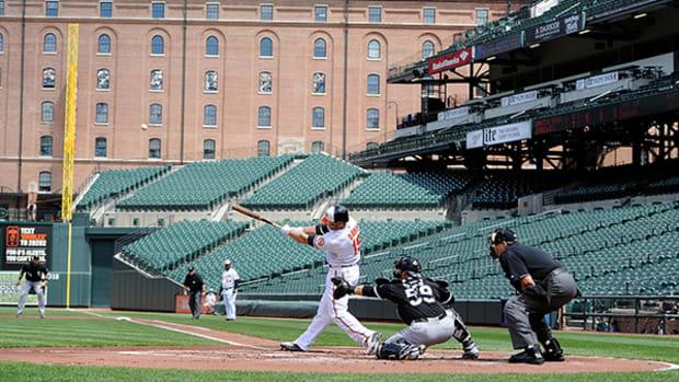 Orioles Defeat White Sox in Historic Empty-Stadium Game