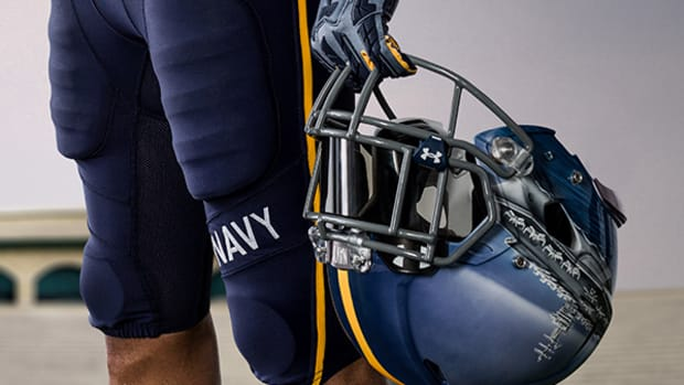 How Under Armour Created Navy's Cool New Helmets