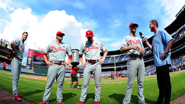 Four Phillies Pitch In on No-Hitter